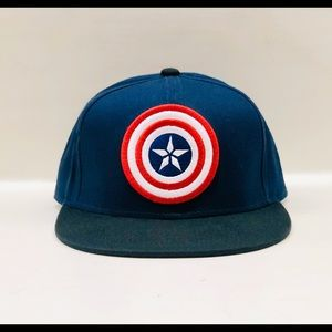 Men's captain America SnapBack hat